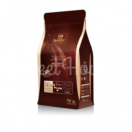 Бельгийский Шоколад Cacao Barry Zephyr - Белый 34%, 5 кг